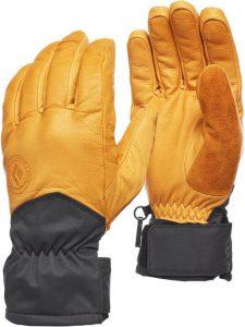 best ski gloves leather